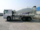 CIMC LINYU 6*4 cement mixer truck with Howo chassis