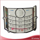 Keypad for Nokia 6680 Keypad Silver Colour