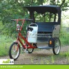 500w Rear motor power rickshaw