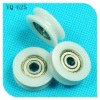 plastic pulley bearings,bearing steel and POM
