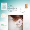 SterilIized Body Piercing Jewelry Ear Rings Studs Needle Tool kit CK-SC703