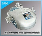3D Freeze Fat + Strong Sound Wave + RF Lipolysis + RF Liposuction Portable Ultrasonic Liposuction Machine