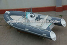 RIB 430 rigid inflatable fiberglass boat