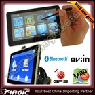 2012 hot 7 inch Car GPS Built-in 4GB - Free map