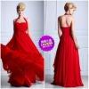 2012 New Exotic Romantic Design Chiffon Tasteful Style Sheath Dresses For Prom