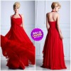 2012 New Exotic Romantic Design Chiffon Tasteful Style Sheath Dresses For Prom