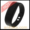 Incoming Phone Call Vibrating Alert Device Bluetooth Bracelet for Mobile Phones - Black