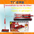 Electric power sweeper TZ-TV669 Electric floor sweeper with Rechargeable Battery&360 degrees head swivel