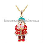 Christmas gifts jewelry,Santa Claus jewelry pendant