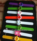 Popular Silica gel wrist band watch designed wristband