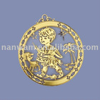 1C golden child of christmas decoration