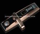 Advanced intelligent fingerprint door lock with OLED disply