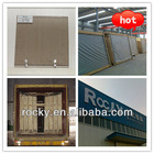 ROCKY 4MM-8MM / 5.5MM Bronze Reflective Float Glass with ISO9001&CE certificate
