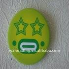 Metal pin badge for advertising