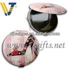 Fashionable tin mirror