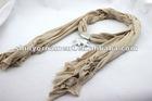 Fashion elephant pendant necklace scarf