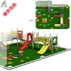 Playground safety mats
