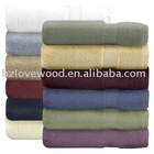 100PC MOQ 140X70CM 100% bamboo bath towel wholesale
