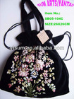 Handmade ribbon embroidery,Wedding decoration,Handicraft,Green bag SB05-104C