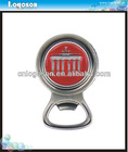 High Quality Round Plate Metal Bottle Opener Makes for idea collectors gift
