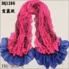 fashion cotton scarf,tig printing ,candy colors,big size,accept small qtys order