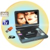 Best Selling 9 Inch Portable 270 degree LCD DVD Player