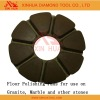 High efficiency stone polishing pads; stone floor grinding pad