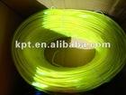 supermarket best seller 2.0mm yellow el wire with welt