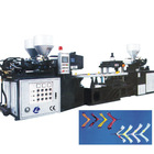 Three-color upper injection foaming machine