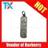 metal zipper puller for handbag or leather bag