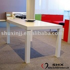 2011 NEW STYLE high glossy dining table