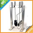 stainless steel fire tool set