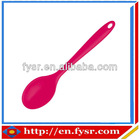 2012 Food grade nice silicone rubber spoon