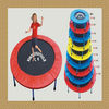 courage and spirit jumping trampoline for kids