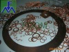 Copper ring gasket for fittings or assembly