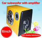 2011 Latest 6 inch ladder shape car subwoofer,subwoofer for car