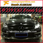 2012 W219 C63 AMG Front Carbon Lip For Mercedes-Benz