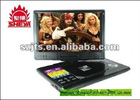 "Wholesale - Brand 12"" TFT LCD portable DVD Player SY-07 multifunction HEVD DVD VCD Mp3 MP4 TV"