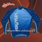 100%polyester sublimation cycling jacket
