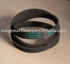 Ribbed belt with CR / EPDM material, suitable for cars
