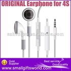For iPhone 3 3gs 4 4S Original Latest Earphone With Microphone and Remote