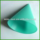 Food grade silicone ice cream cone holders