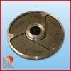 Duplex stainless steel pump cover