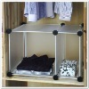Low price beautiful plastic closet organizer