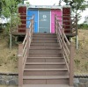 wpc stair decking board