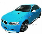 glossy blue car color change vinyl film, AIR bubbles free, 1.52*30