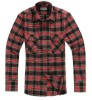 Men's latest shirt designs for men check flannel shirt 2013