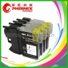 Inkjet Cartridge Compatible with Brother LC39BK, LC39C, LC39M, LC39Y with Spring!