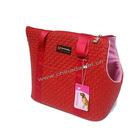 Lovely pantone pet bag lady laminated pet bag