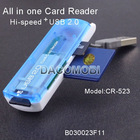 USB 2.0 All in One Card Reader for SD MMC MS